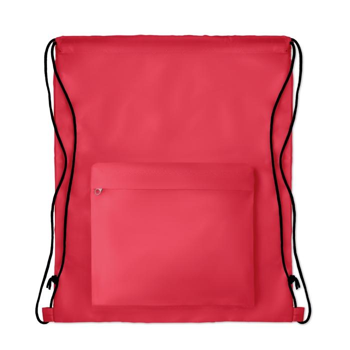 Gymabg personnalisé avec poche pocket Shoop gris - cadeau publicitaire