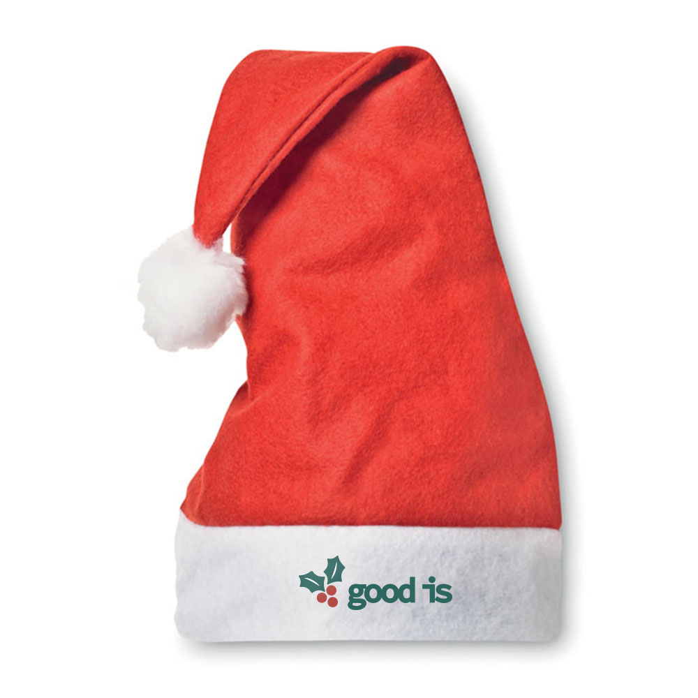 Bonnet de ère de Noël publicitaire Bono 2