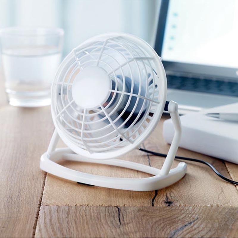 Ventilateur publicitaire en ABS Airy - Goodies entreprise