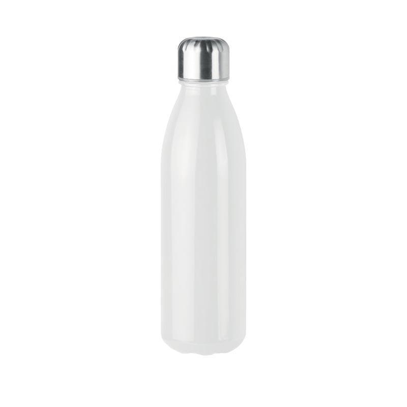 Bouteille en verre publicitaire Aspen - Blanc