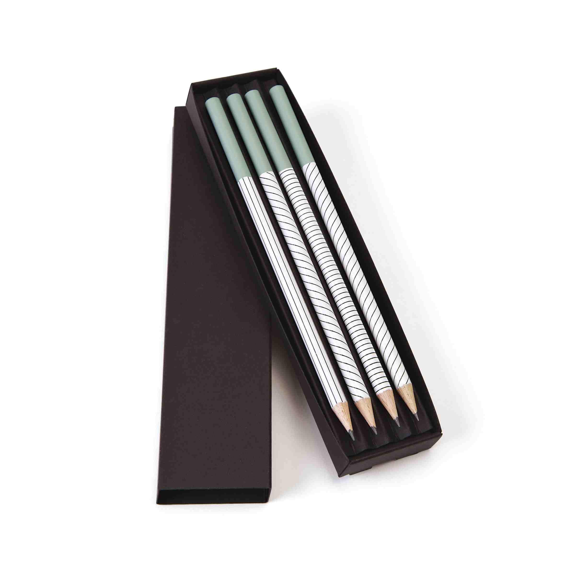 cadeau entreprise made in france - crayons publicitaires en coffret Graph