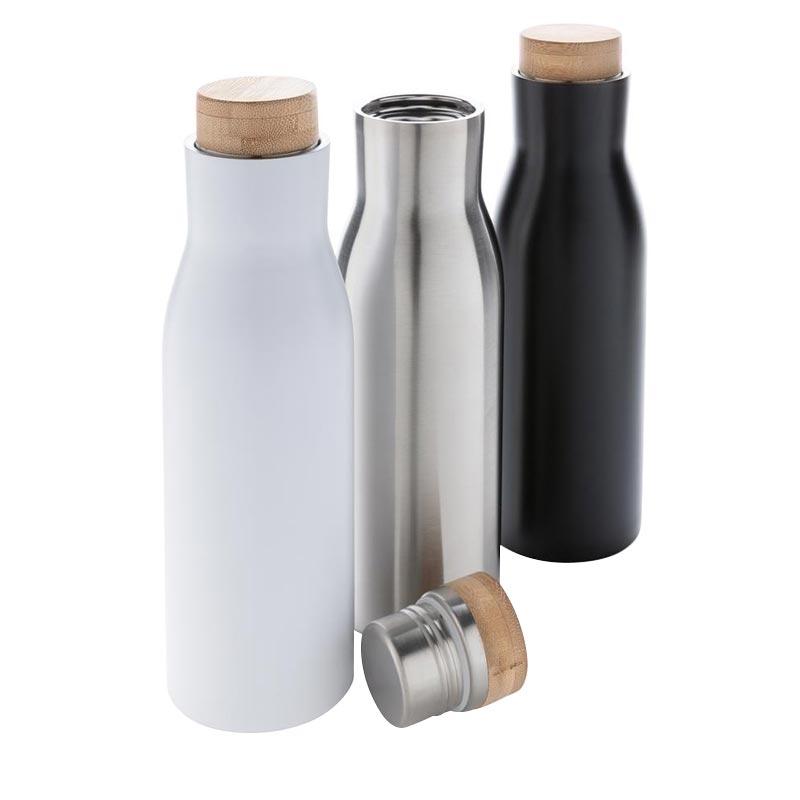 bouteille isotherme publicitaire en inox Clima - coloris disponibles