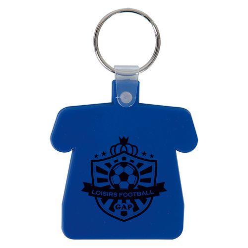 Porte clé à personnaliser en forme de maillot