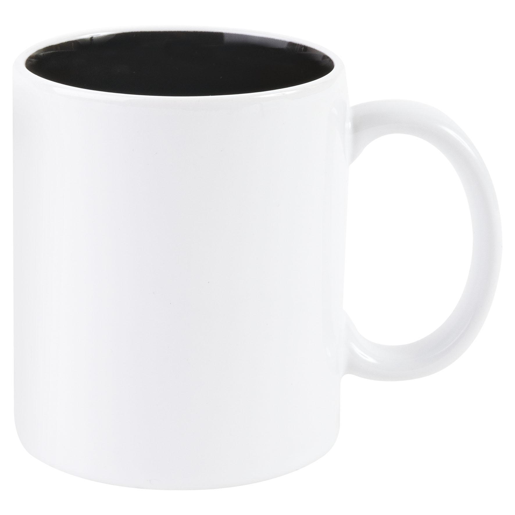 Mug publicitaire Bicolore pour sublimation 31 cl - mug personnalisable  - rouge