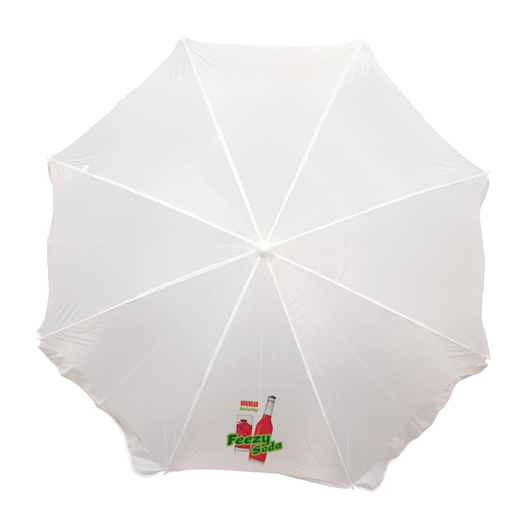 Cadeau publicitaire - Parasol publicitaire Plein Soleil - bleu