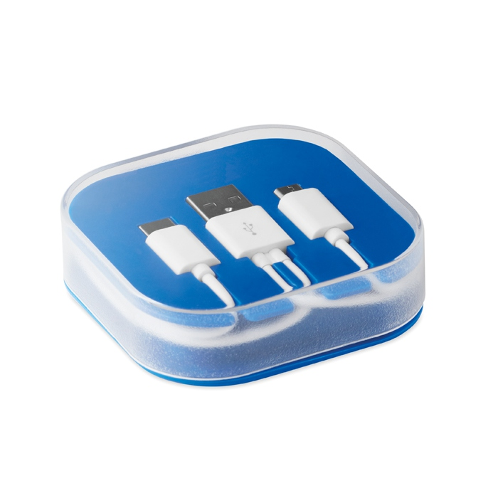 Cadeau d'entreprise - Câble A-B-C dans une boîte Connecti