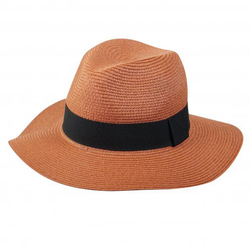 Chapeau de paille personnalisable Fedora