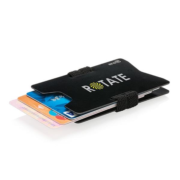 Objet publicitaire - Porte-cartes personnalisable minimaliste RFID