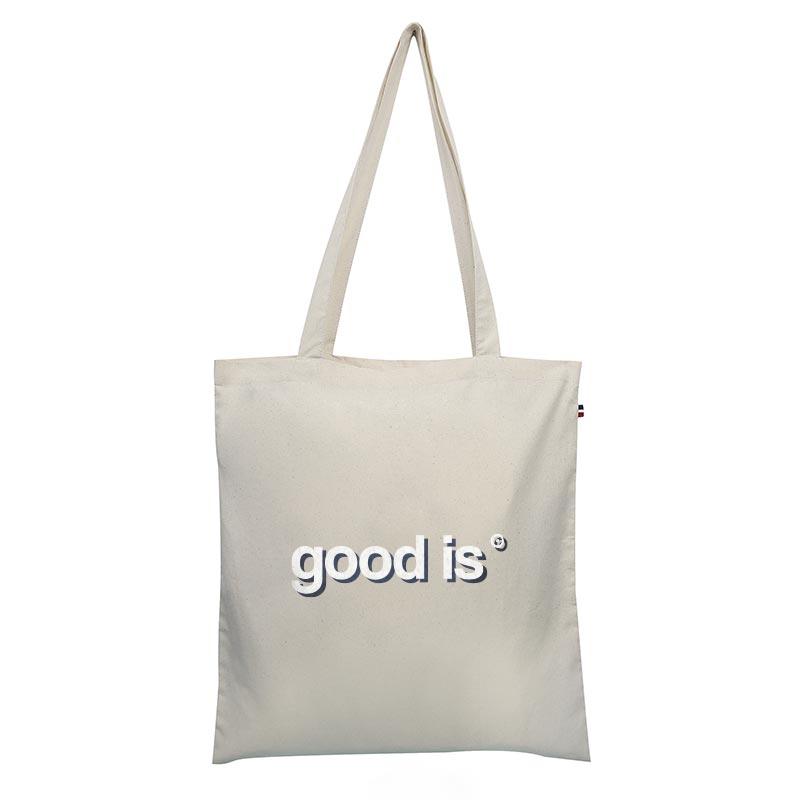 Tote bag publicitaire en coton bio Thomas - Goodies écologique