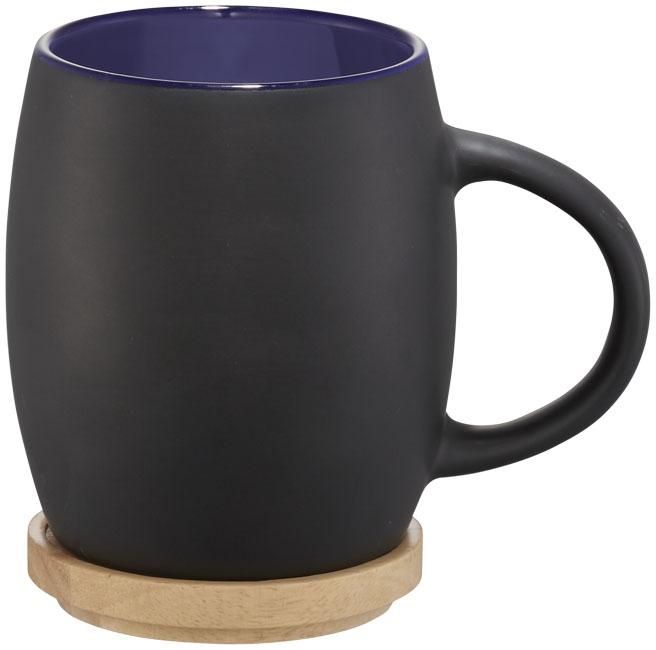 Mug publicitaire en céramique Hearth - cadeau d'entreprise