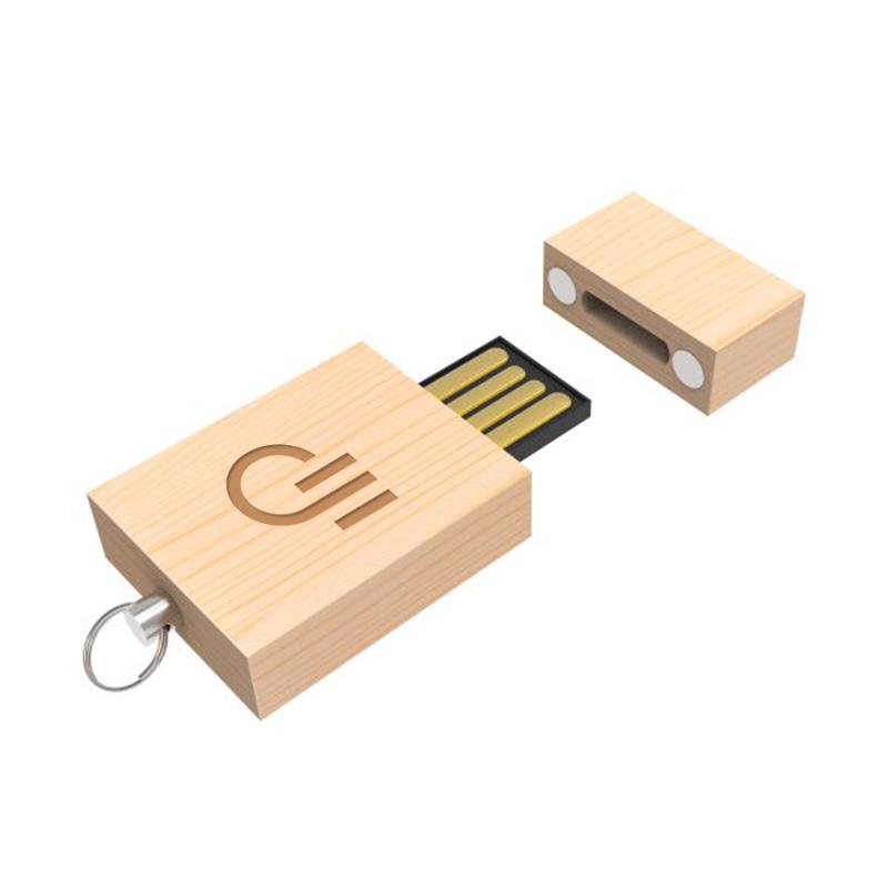 Clé USB en bois Eco Wood 1