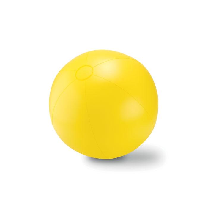 Objet publicitaire - Ballon plage gonflable en PVC Play  - vert