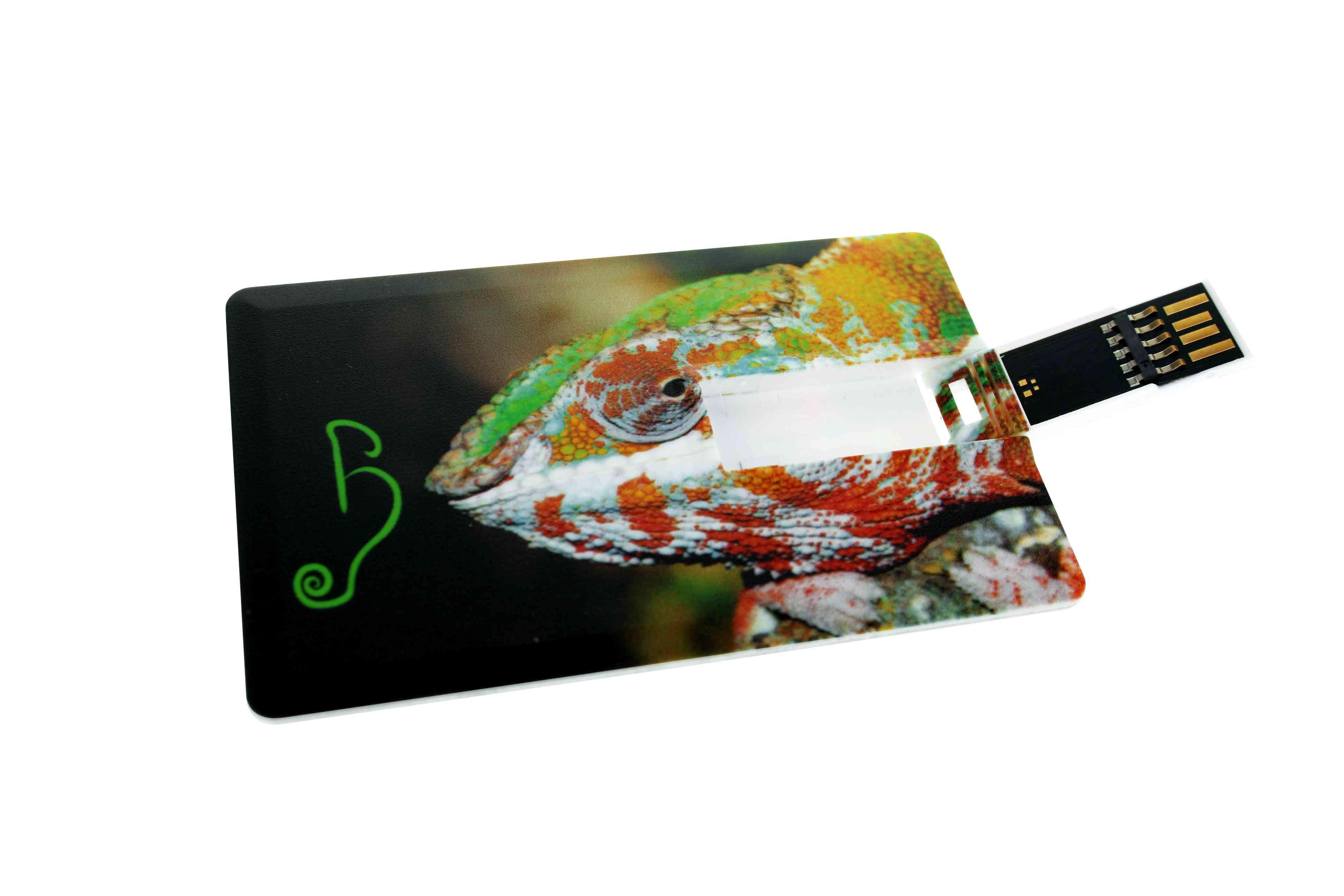 Clé USB publicitaire carte de crédit 3.0