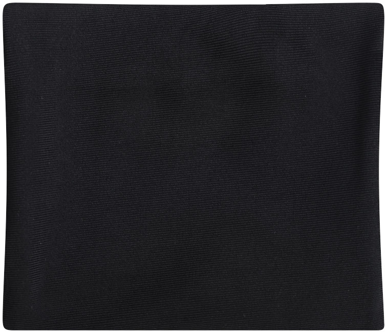 objet publicitaire - Pochette de rangement publicitaire avec zip Squat - noir