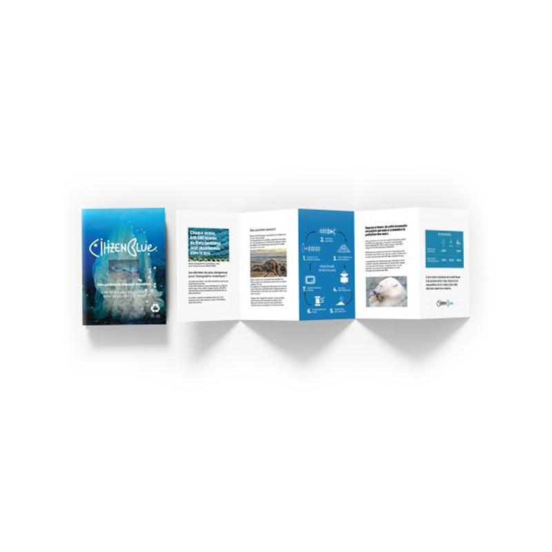 sacs publicitaires écologiques - gamme citizen blue