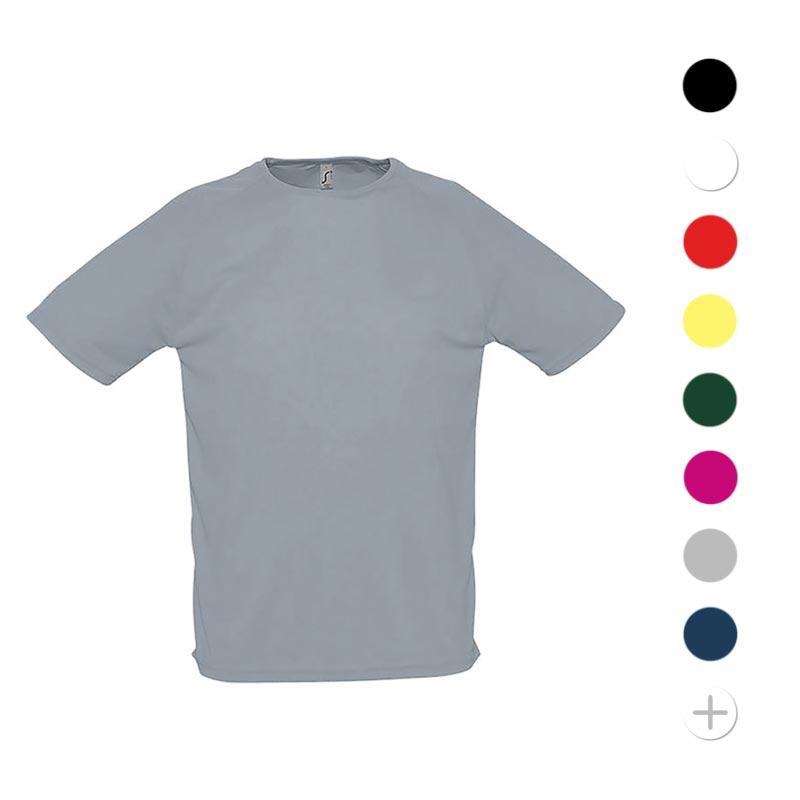 T-shirt publicitaire respirant homme Sporty 140 g - Coloris disponibles