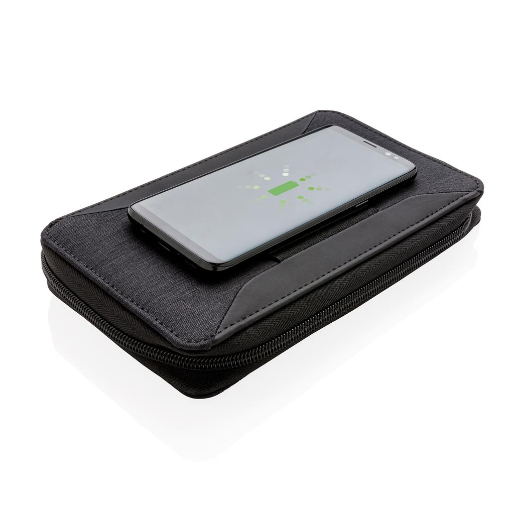 Portefeuille personnalisable chargeur à induction Swiss Peak Travely