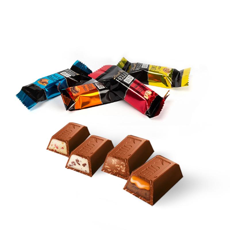 Calendrier de l'Avent personnalisé Cube - Variétés chocolats
