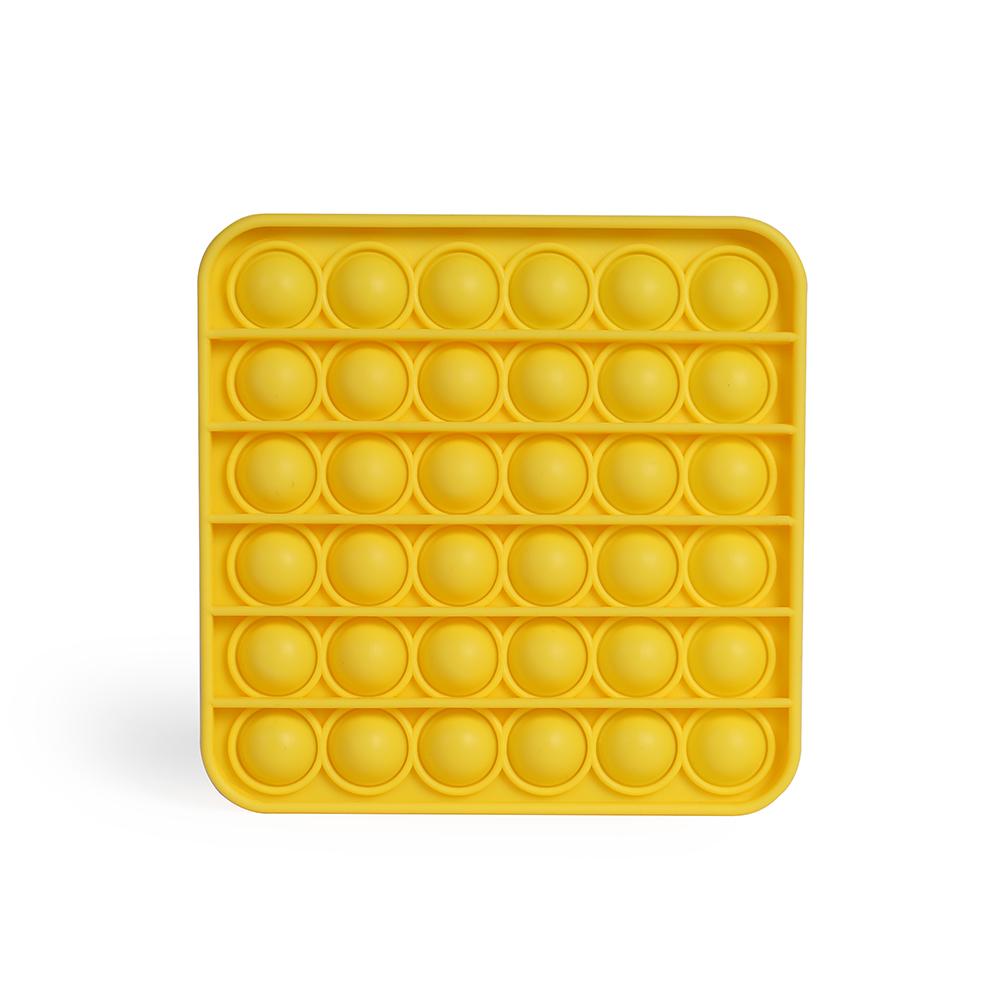 Jeu publicitaire anti-stress Pop-it jaune