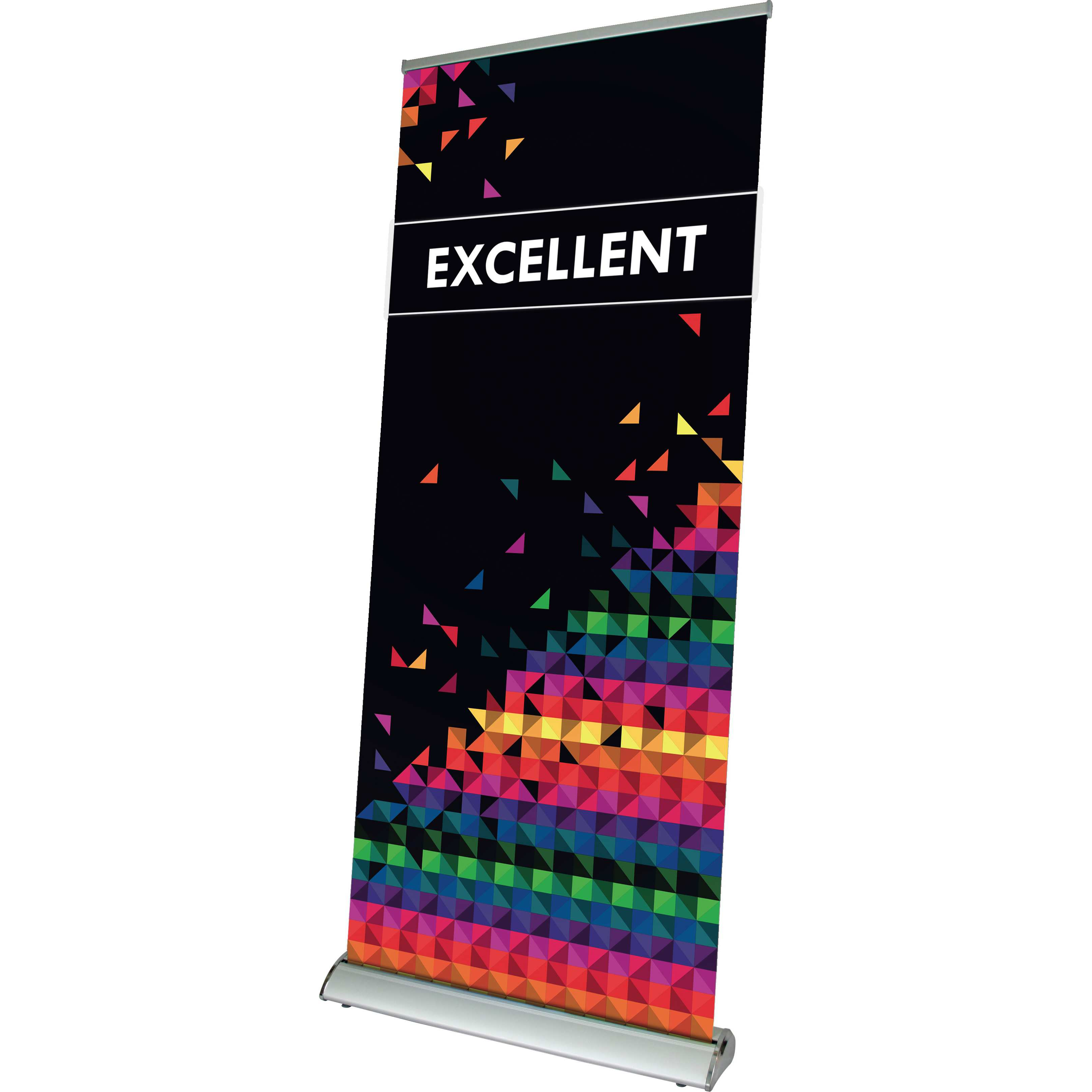 Kakemono publicitaire Roll-up Excellent - kakemono personnalisable