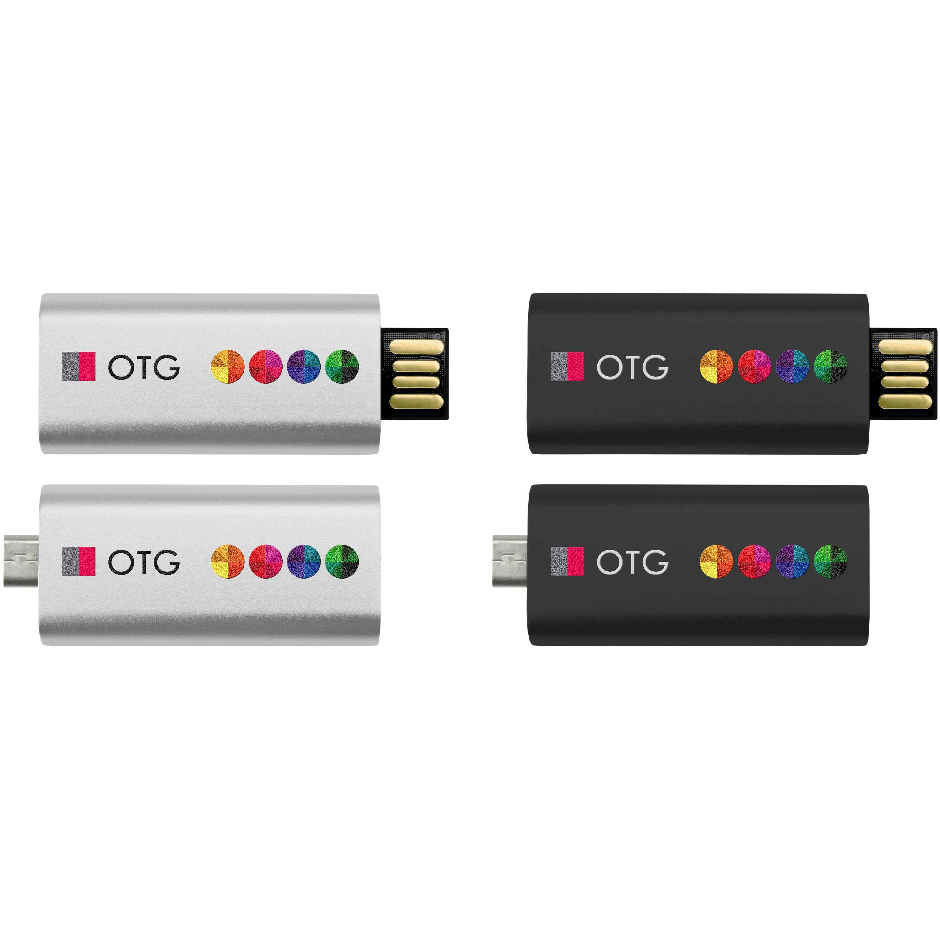 Clé USB publicitaire OTG Slide - clé USB promotionnelle