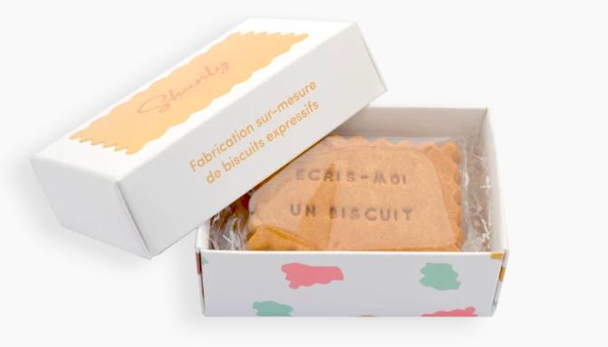 Coffret 6 biscuits personnalisés Shanty Biscuit - Cadeau d'entreprise