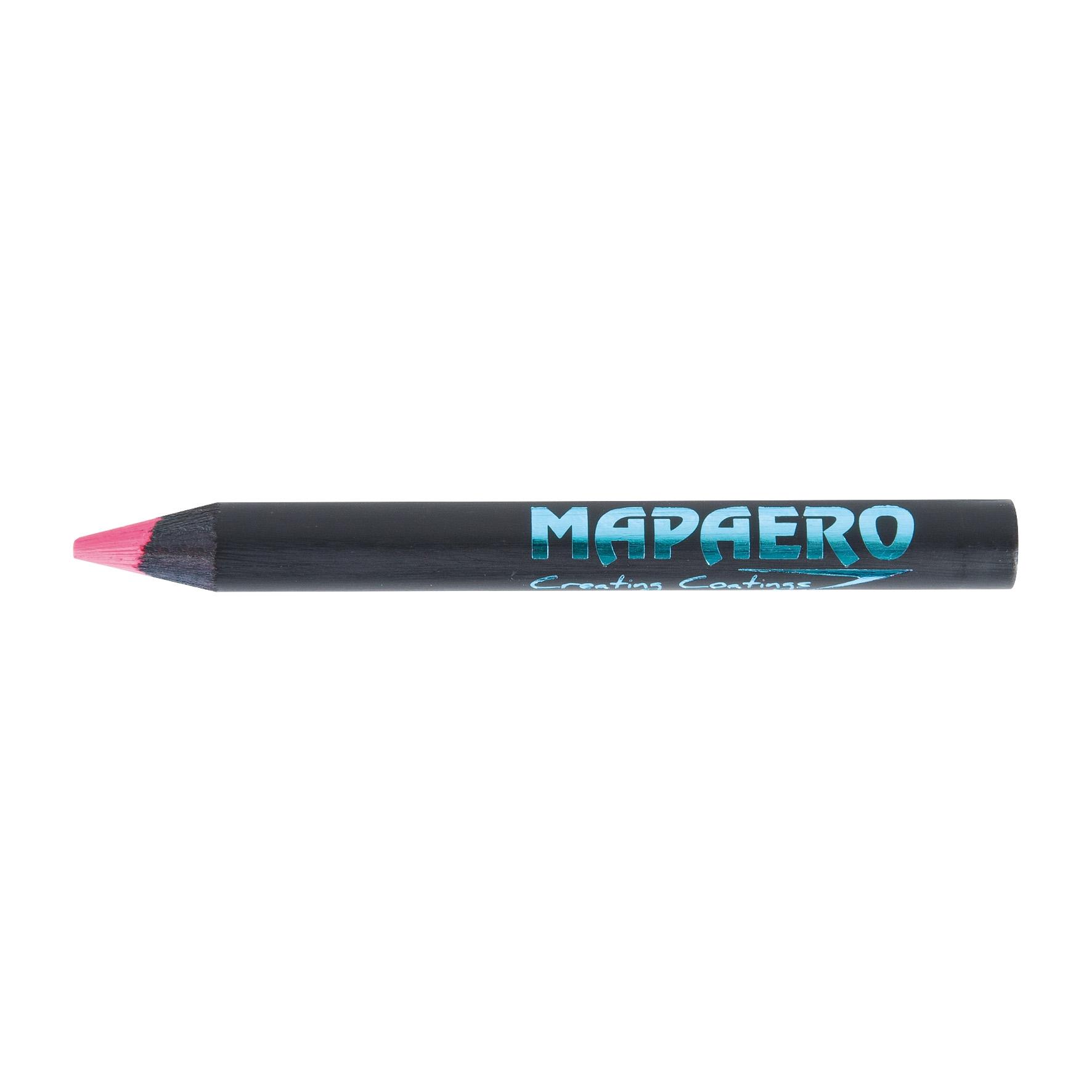 crayon  surligneur publicitaire fluo rose black - surligneur écolo personnalisé