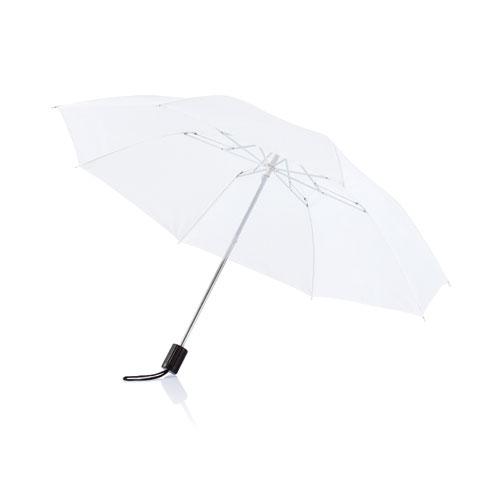 Parapluie pliable publicitaire Deluxe marine -  objet publicitaire