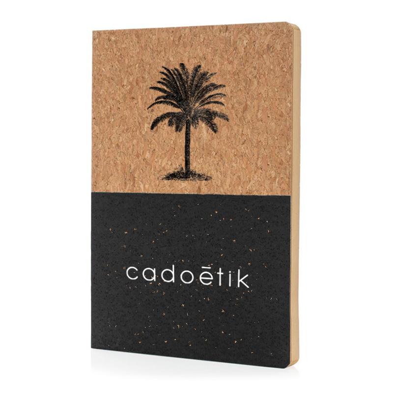 Goodies écologique - Carnet de notes A5 Eco en liège Oian