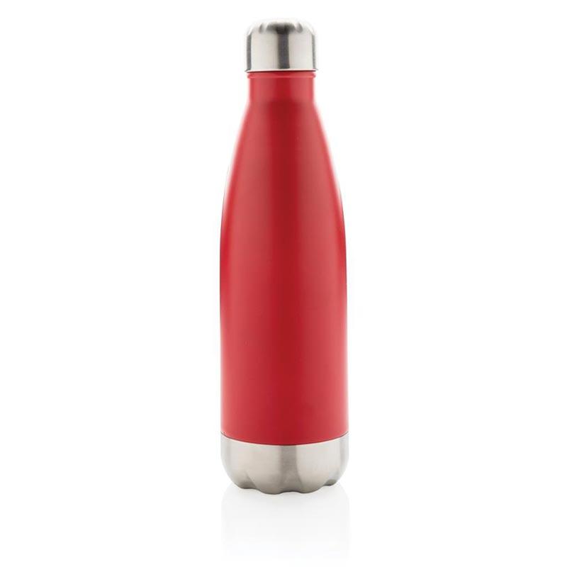 bouteille isotherme personnalisée en inox drinox - coloris rouge