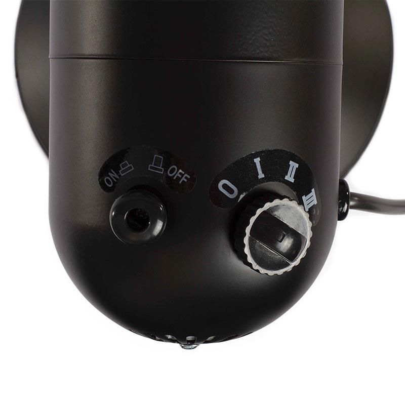 Ventilateur de table Ventus vue de dos