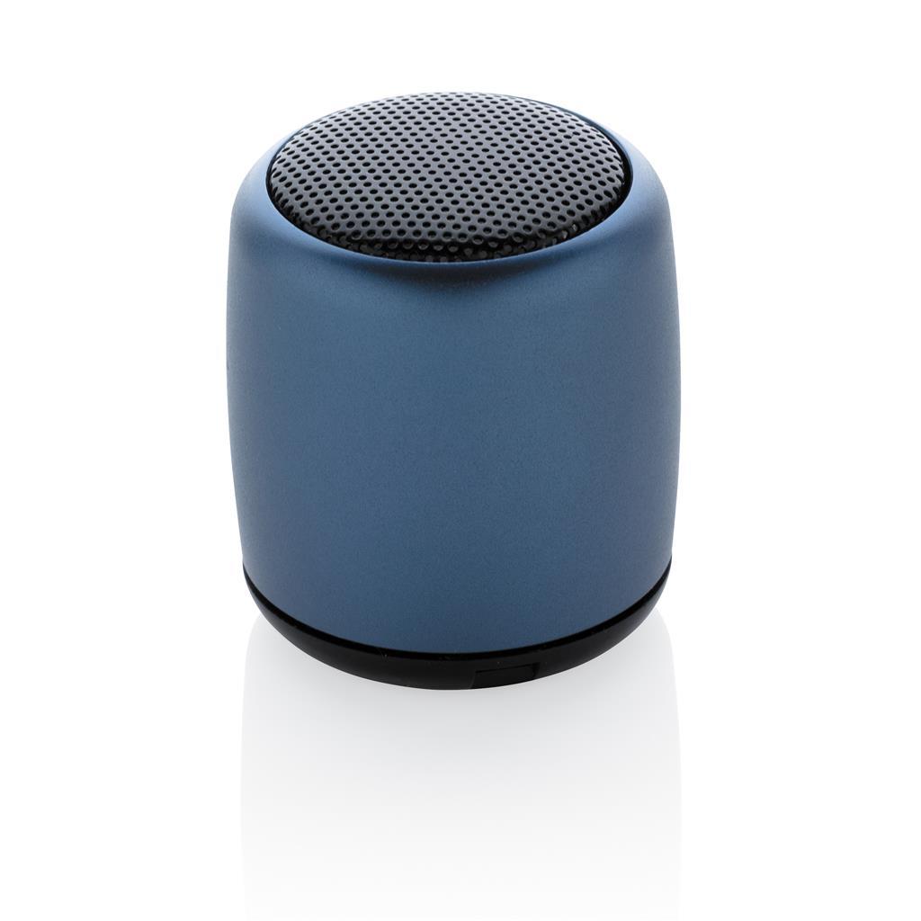 mini enceinte publicitaire nano bleu