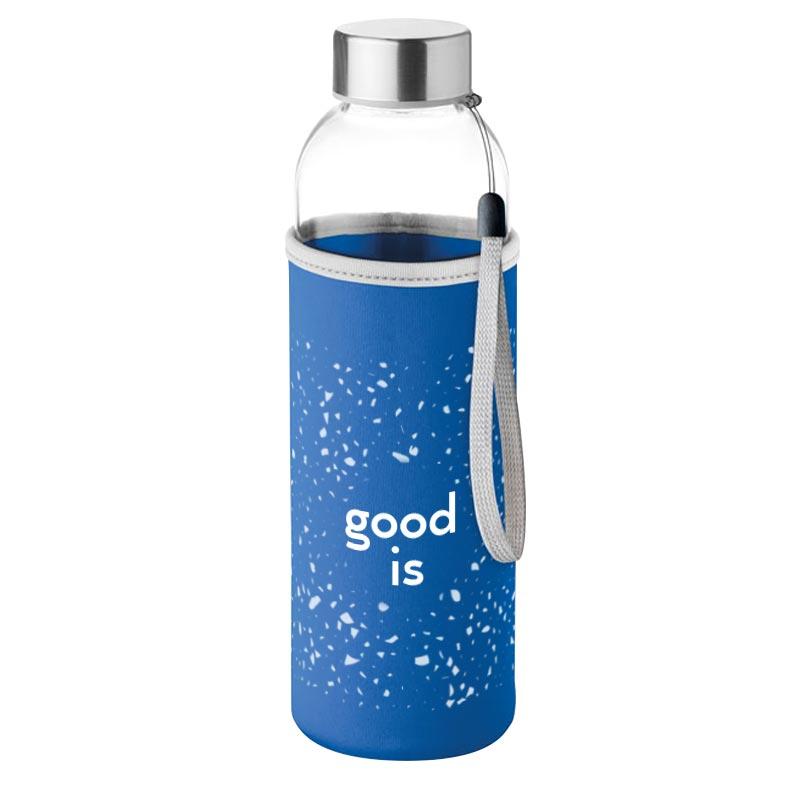 Bouteille personnalisée en verre 500 ml Utah Glass - Bouteille publicitaire