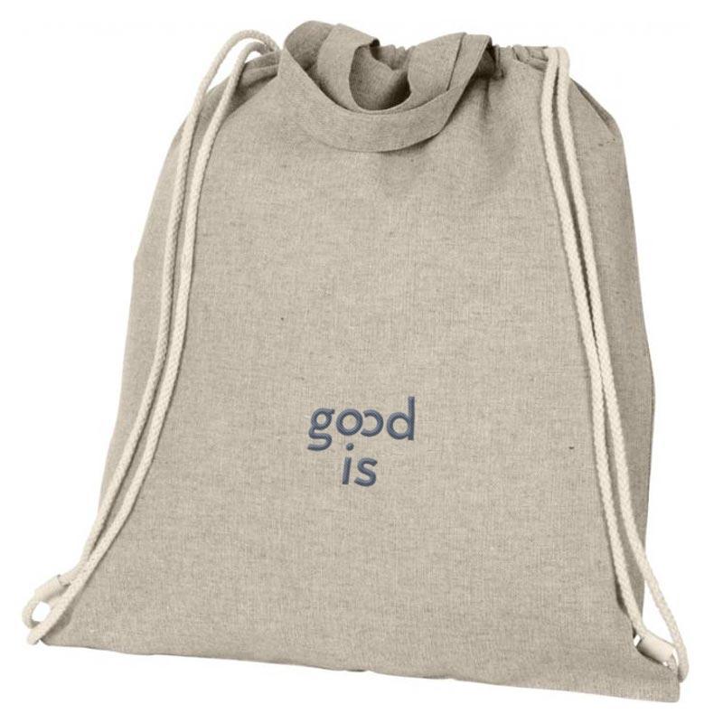 Gym bag et tote bag publicitaire en coton recyclé - goodies