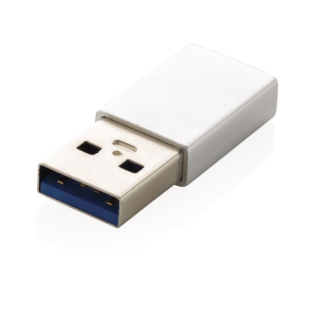 Adaptateur publicitaire USB A vers USB C