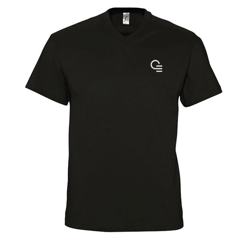 T- shirt publicitaire homme col V en coton Victory 150 g