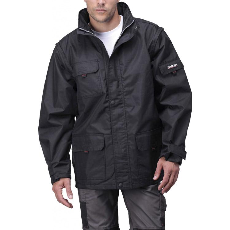 Parka publicitaire Sport Jacket - vêtement de travail personnalisable