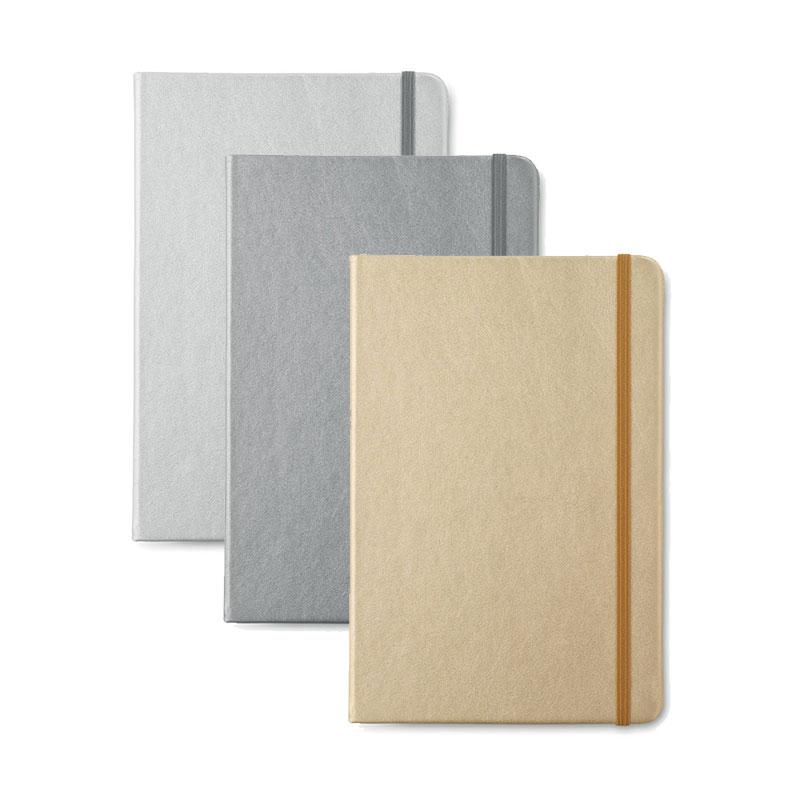 Carnet A5 papier ligné        Goldies Book