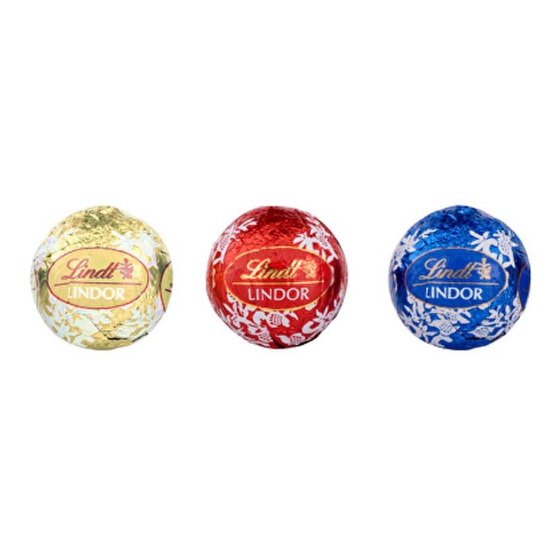 Boules de chocolat Lindor pour calendrier de l'Avent