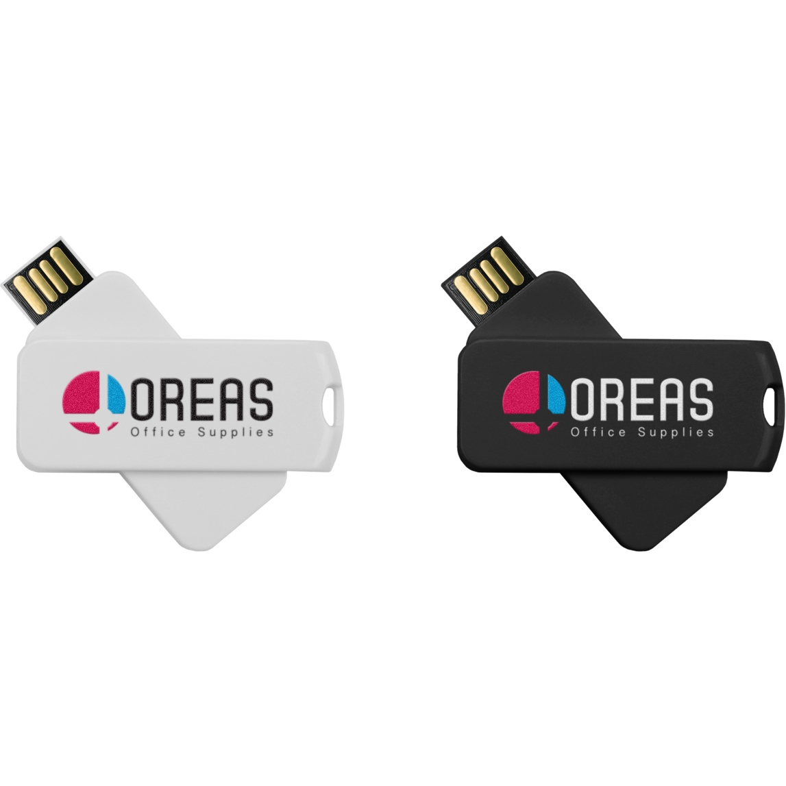 Clé USB publicitaire Smart Twister Large - clé USB personnalisable