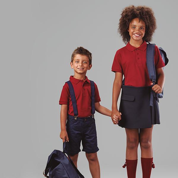 Textile publicitaire - Polo publicitaire enfant unisexe Adam Color