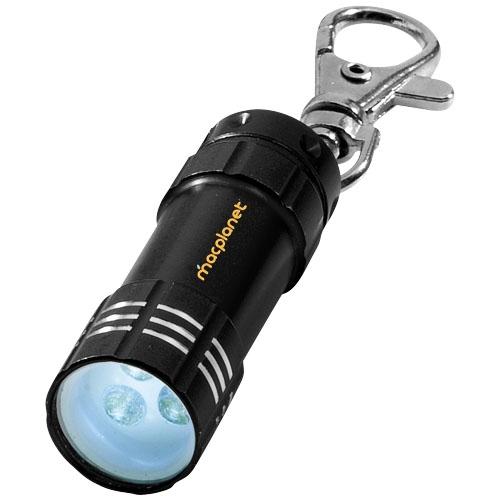 Mini torche publicitaire Astro avec mousqueton - Objet publicitaire