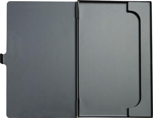 Porte-cartes personnalisable Focus noir - porte-cartes publicitaire