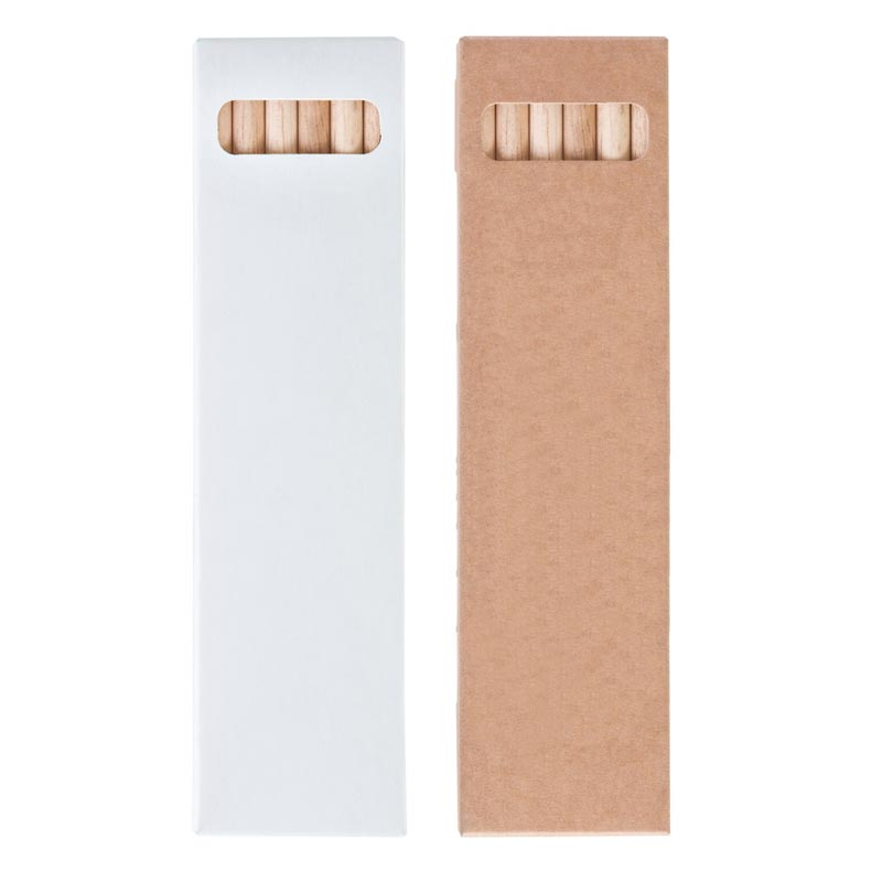 goodies écologique - étui crayons de couleurs publicitaires Aquarellables