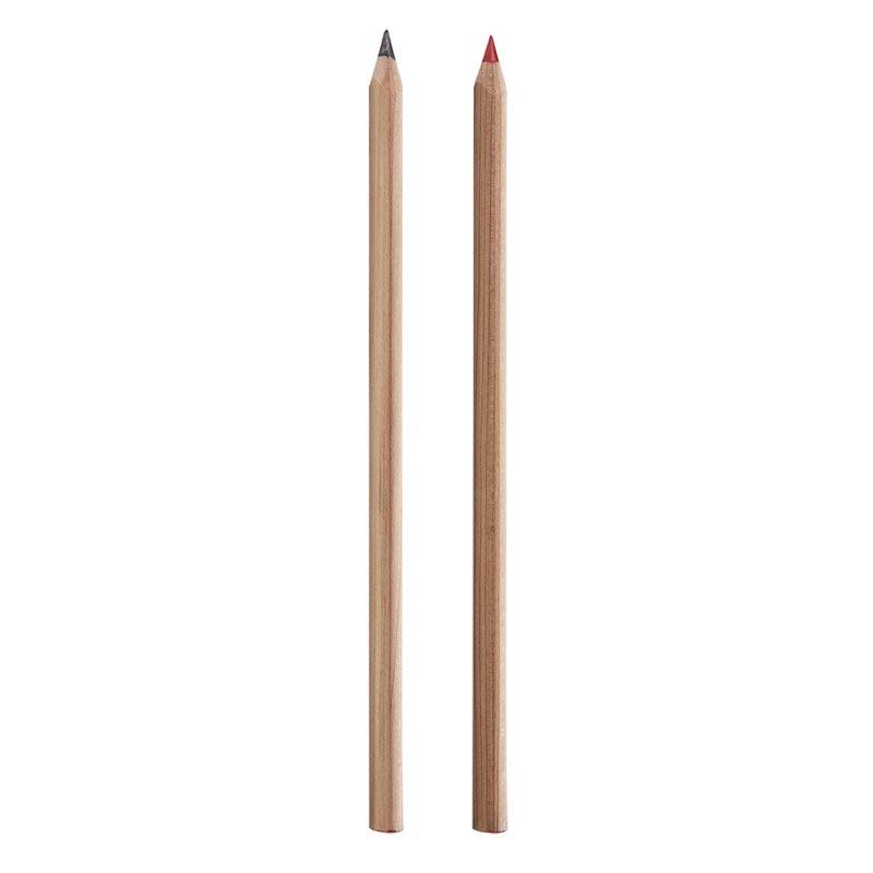 Crayon à papier personnalisé cœur Prestige Naturel