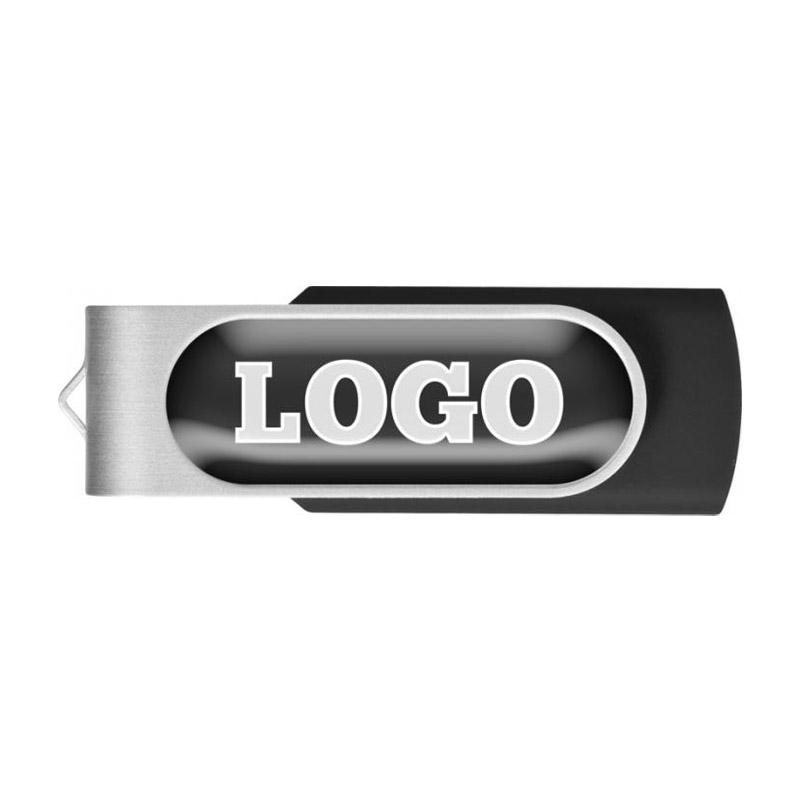 Clés USB rotative translucide