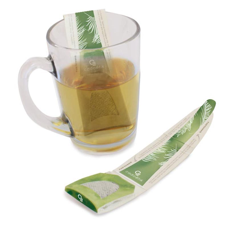 Cuillère à thé avec sachet