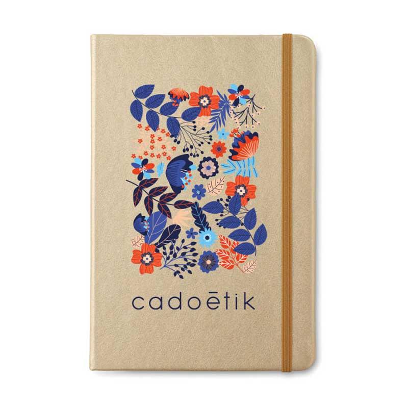 Carnet publicitaire Goldies A5 - carnet personnalisable