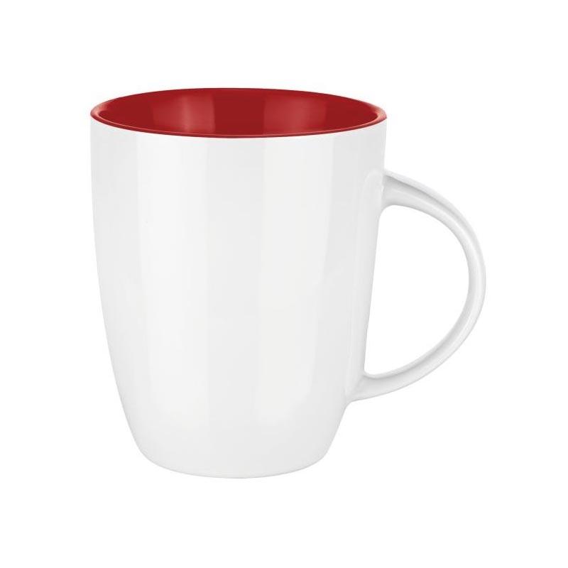 Mug publicitaire Senator® Elite inside - rouge