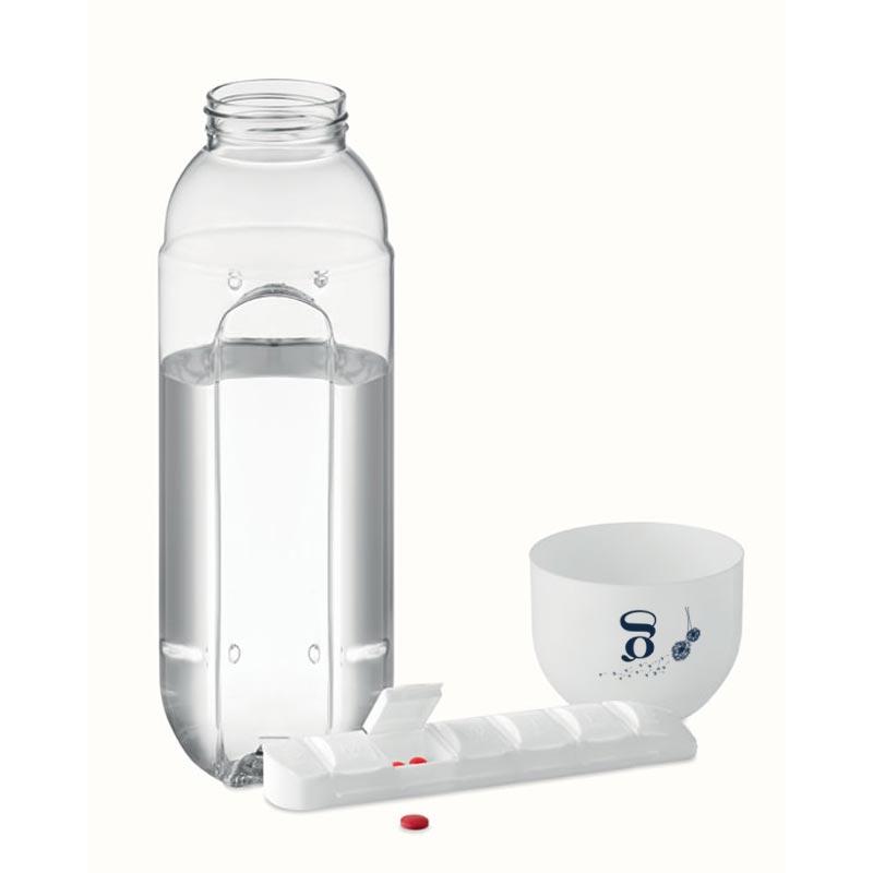Goodies santé - Bouteille et pilulier intégré Bottle Pill